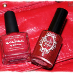 Picture Polish – Arabian & Powder Polish – Beginning To Look A Lot Like Xmas – reds on nails