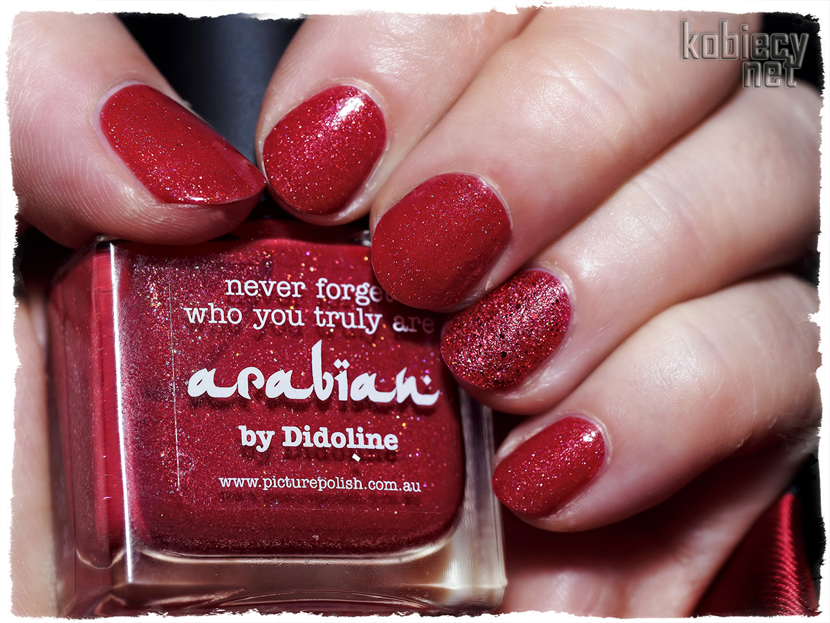 Picture Polish - arabian & Powder Polish - Beginning To Look A Lot Like Xmas manicure