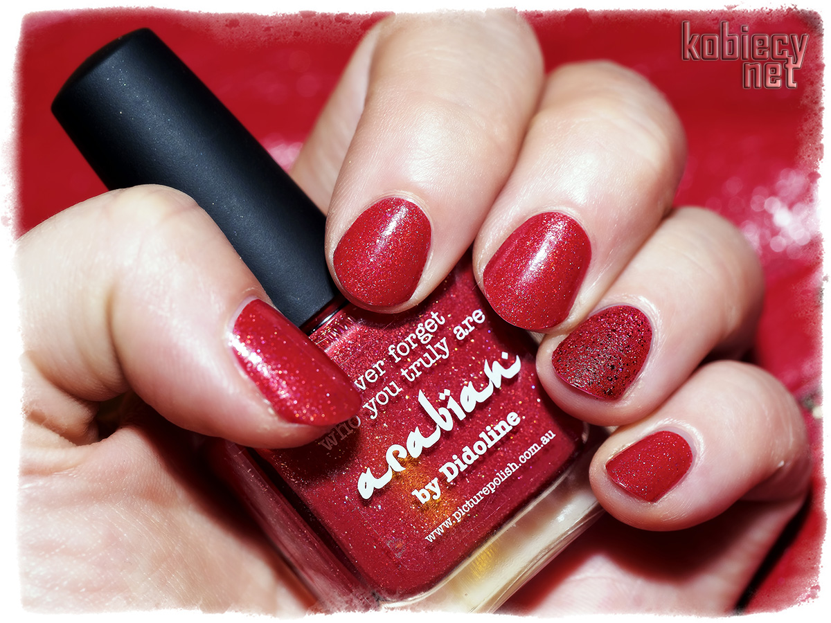 Picture Polish - arabian & Powder Polish - Beginning To Look A Lot Like Xmas