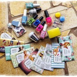 wrzesień 2015 zakupy - lakiery, płytki, stemple